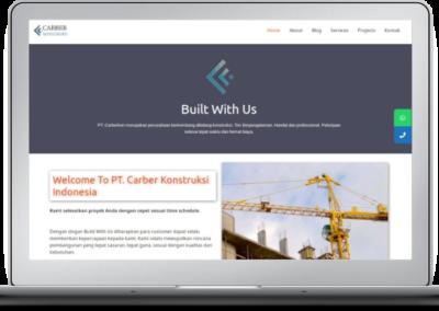 Carberkon Website Redesign